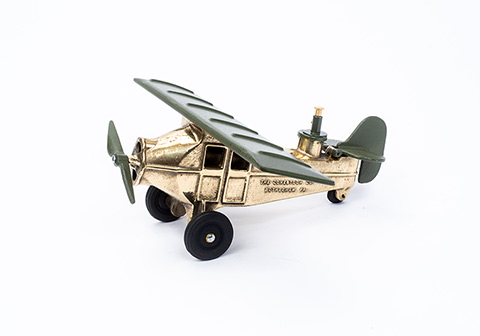 Bombing Plane   Ylw Brass